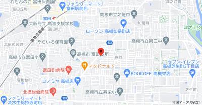 【地図】エルパティオ寿 (株)Roots