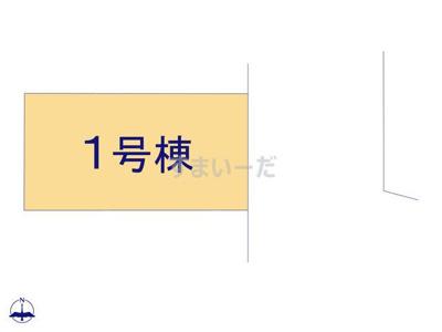 【区画図】リーブルガーデンS尼崎市武庫町5期