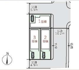【区画図】リーブルガーデンS尼崎市南塚口町5期