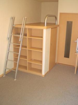 本棚としても収納としても使えるので便利です!
