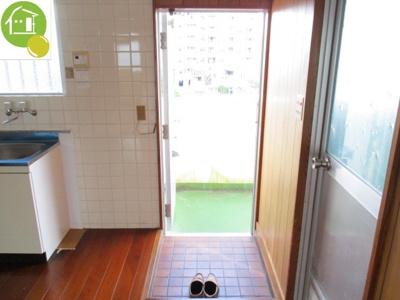 【玄関】小又原アパート