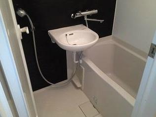 【浴室】ルーブル清澄白河弐番館