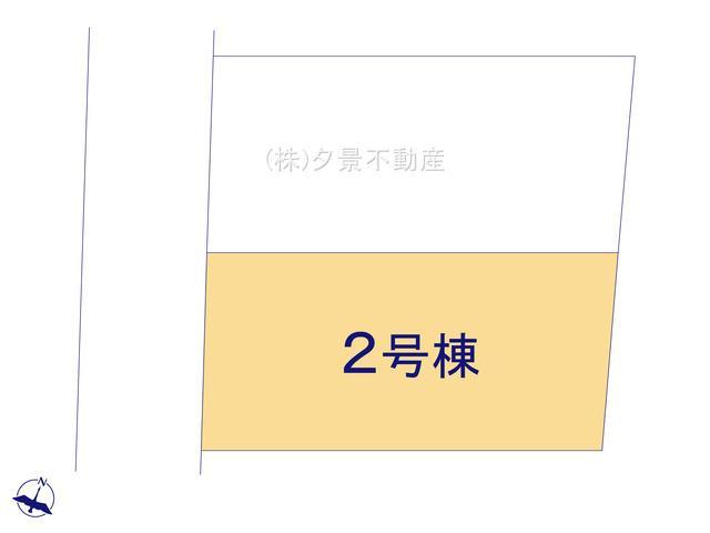 【区画図】浦和区領家3丁目13-2(2号棟)新築一戸建てグランパティオ