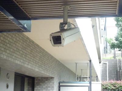 防犯カメラがあるので安心ですね♪