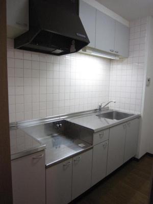 独立キッチンです。