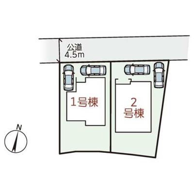 【区画図】リーブルガーデンS長浜市宮司町11期