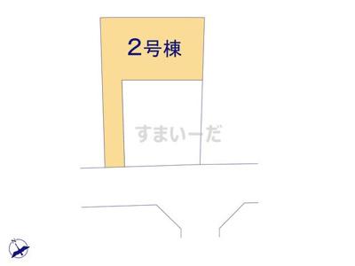 【区画図】リーブルガーデンS守山市播磨田町3期
