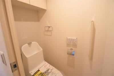 温水洗浄便座付きトイレ新調いたしました。