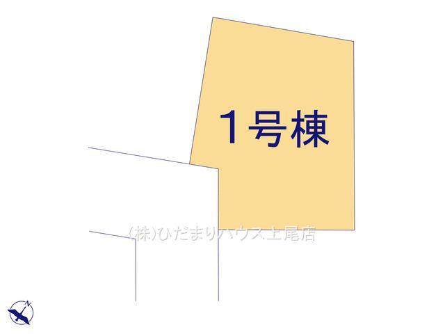 【区画図】鴻巣市天神 新築一戸建て グラファーレ 01