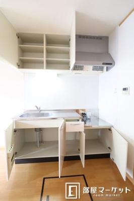 【キッチン】フラワーアベニュー五番館