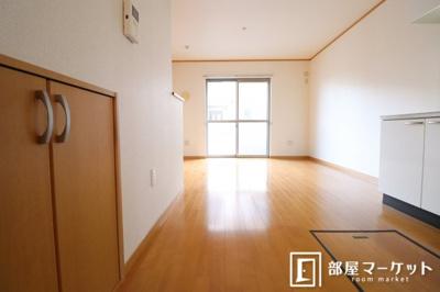 【居間・リビング】フラワーアベニュー五番館