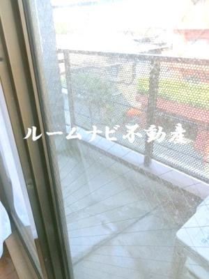 【バルコニー】千束三丁目住宅