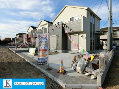 【外観】土浦市真鍋4丁目3期 新築戸建 全3棟