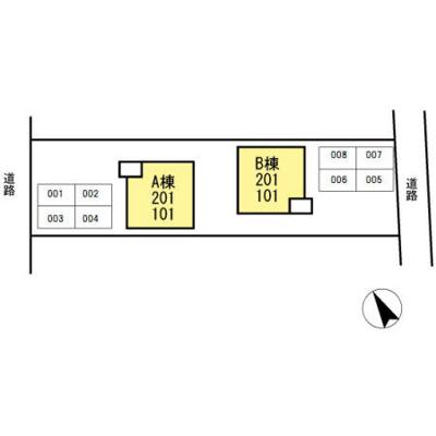 【区画図】シャトレー21 B棟