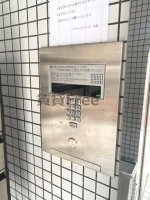 【セキュリティ】シティパレス21玉造 仲介手数料無料