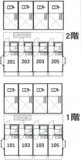 横浜市神奈川区白幡仲町の一棟売りアパート