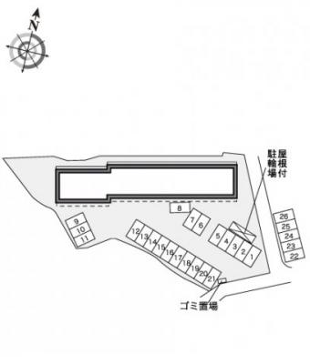 【駐車場】レオパレスサニーコート大町
