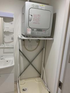 洗濯機置き場・乾燥機