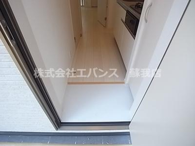 【玄関】cube inohana(キューブイノハナ)