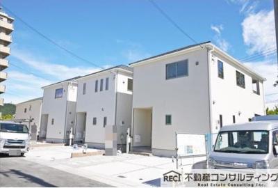 【外観】垂水区青山台5丁目 新築戸建 3号棟