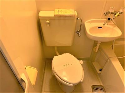 【トイレ】クイーンズマンション元町