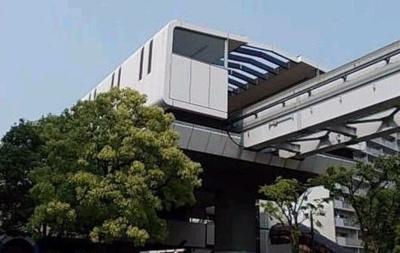 北九州モノレール 片野駅まで350m