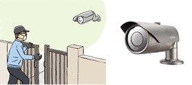 防犯カメラ設置物件