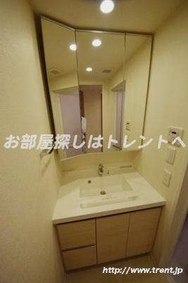 【洗面所】パークアクシス日本橋本町