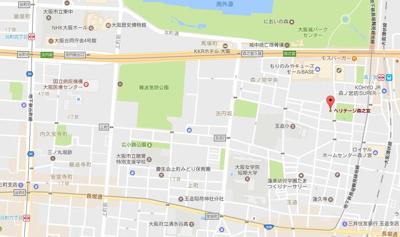 【地図】ヘリテージ森之宮