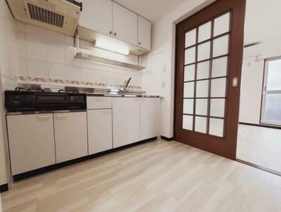 【キッチン】第2林マンション