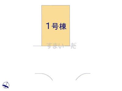 【区画図】リーブルガーデンS柏原市高井田