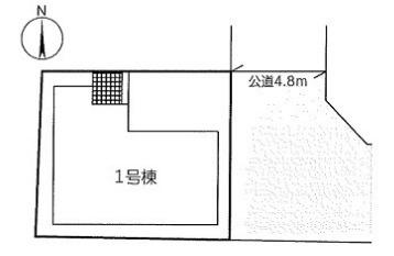 【区画図】リーブルガーデンS茨木市天王