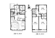 【2号棟】立川市若葉町2丁目 新築戸建 全2棟の画像