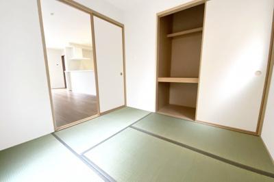 《和室4.5帖》和室には押入れがしっかり完備されています。