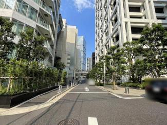 2021年8月26日撮影 赤坂御用地や各国の大使館が近くにあり、警察の巡回が頻繁に行われているため、お子様や女性の方も安心してお過ごしいただけます。