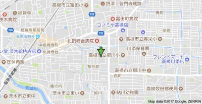 【地図】ルヴェール石垣 (株)Roots