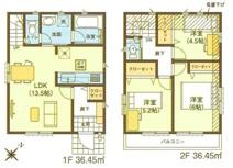 板橋区三園1丁目 新築戸建て 1号棟の画像