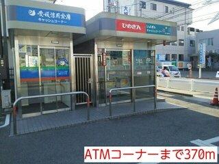 ATMコーナーまで370m