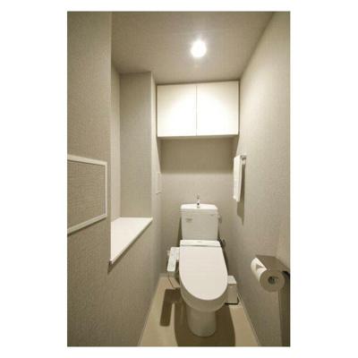 【トイレ】デュオフラッツ芝公園(家具有)