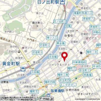 【地図】ライオンズマンション伊勢佐木町通り