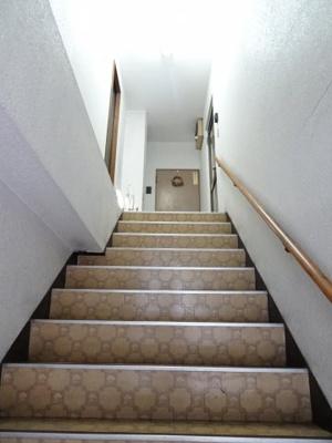 小熊ビル 共用階段
