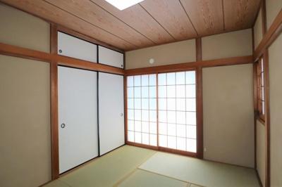 和室は畳・障子・襖などが綺麗で気持ちいいです!