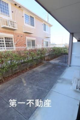 2階のバルコニーです。