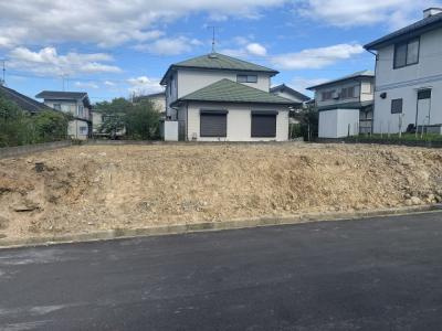 【前面道路含む現地写真】緑が丘町西4丁目 売り土地