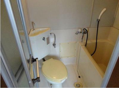 【浴室】メゾン鹿沼