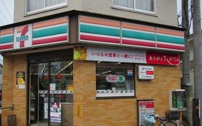 セブンイレブン 京成津田沼駅前まで400m