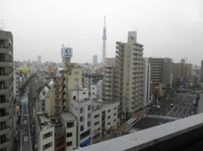 【展望】ダイホープラザ入谷