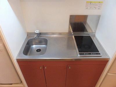 【キッチン】レオパレス栄町