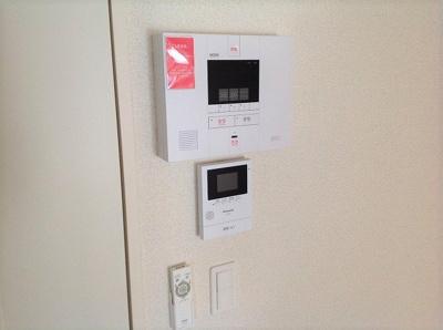 ホームセキュリティやモニター付インターフォンあります!