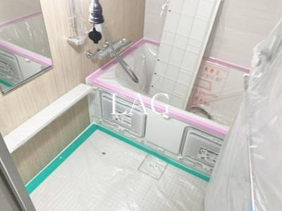 お風呂です。(建築中)